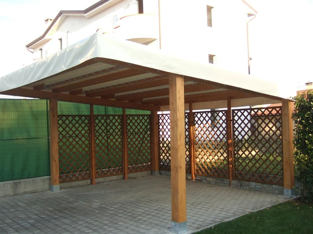 Pergolati in legno gibus ravenna lugo cervia faenza for Finestre pvc obi