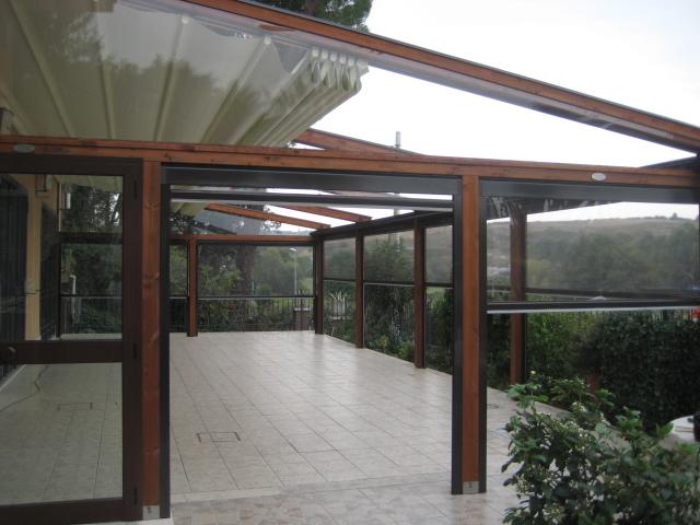 Excellent chiusure gibus ravenna lugo cervia faenza tende - Coperture per tettoie esterne ...