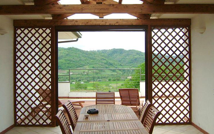 Grigliati gibus ravenna lugo cervia faenza tende da sole capottine tende a finestra gazebo - Tende in legno per interni ...
